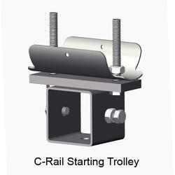 C-Rail Starting Trolly