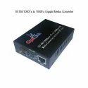 10/100/1000Tx to 1000Fx Gigabit Media Converter