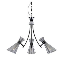 LED Jaquar Chrome Decorative Ceiling Light, 3 X 4w E14