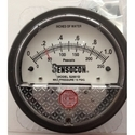 Sensocon USA Differential Pressure Gauge 0 To 125 Mm Wc