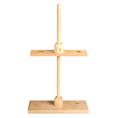 Wooden Funnel Holder for Chemical Laboratory