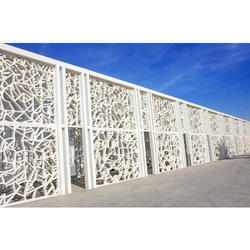 Rectangular GRC Fence Panel, Thickness: 3-6 Mm