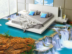 3D Bed Room Painting Service