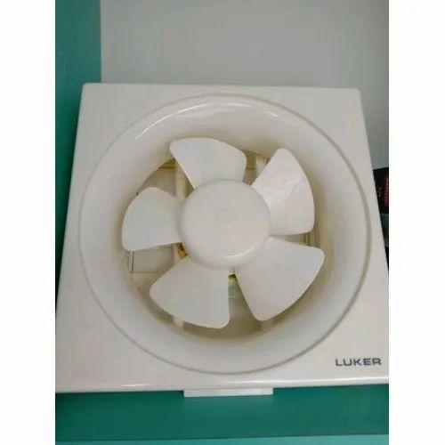65 W Plastic Luker Exhaust Fan For Home Size L 230 X W 230 Mm Rs 865 Piece Id 21435148312