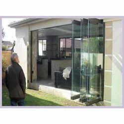 Exterior Folding Glass Door, 8 /10 / 12 Mm