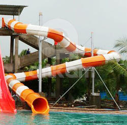 Close Tunnel Water Slides