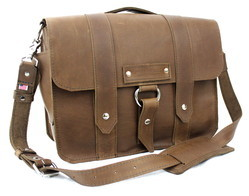 Brown Large Leather Handbags, Pure Leather: Yes