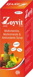 Multivitamins & Multimineral Antioxidants Syrup