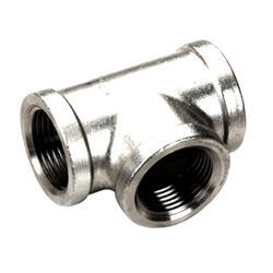 Stainless Steel Tee, Size: 1/2 inch