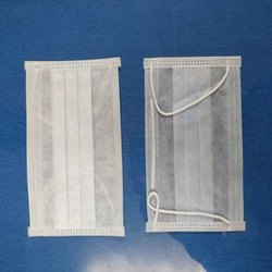 White Three Ply Surgical Disposable Face Safety Mask