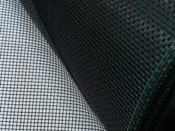 Black Doors and windows Stainless Steel Mosquito Mesh, For Insect Screens, Packaging Type: Roll