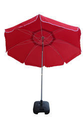 Garden Umbrella-9'-Tiltable-Red