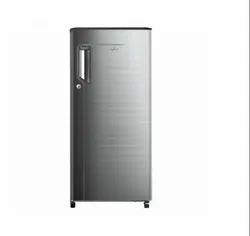 Whirlpool Icemagic Powercool 185L 2 Star Grey Chromium Steel Single Door Refrigerator