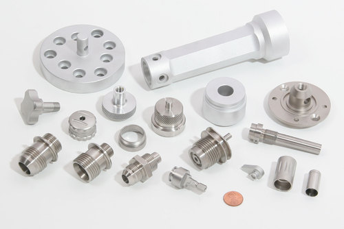 Polished Stainless Steel CNC Turned Components for Industrial