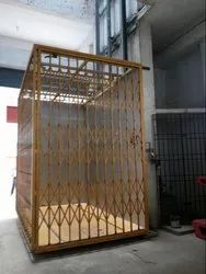 MS Mechanical System Traction Goods Lift, Capacity: 0-0.5 Ton
