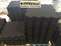 Shock Absorbing Rubber Tiles