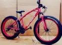 Bengshi Red Fat Tyre Cycle