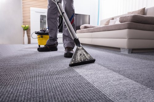 Commercial Floor Carpet Shampooing Services, Dailyclean | ID: 21679345348