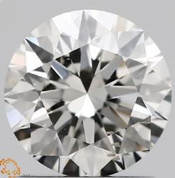 1.00ct Lab Grown Diamond CVD H SI1 Round Brilliant Cut IGI Crtified Type2A