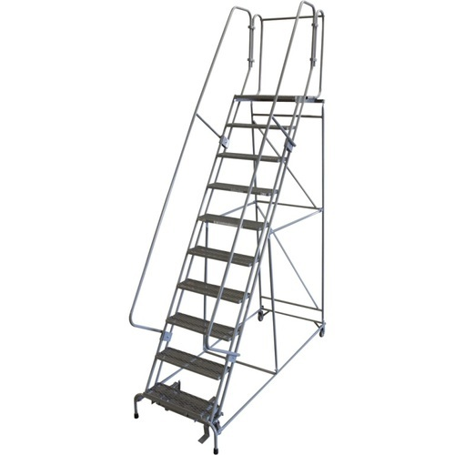 JPR Aluminum Movable Ladder, Foldable