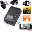 Full Hd Wifi Security Mini Spy Hidden Wall Charger Ip Camera