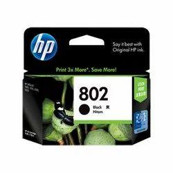 HP 802 Black Original Ink Cartridge (CH563ZZ)