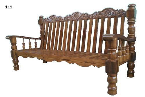 Elephant Leg Teak Sofa Set