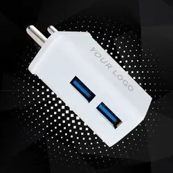2.4 A Fast Charging Two USB Charger