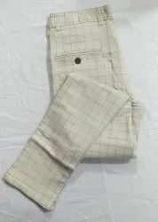 Cotton Office Wear Men Cottan Pants