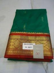 Kanjiwaram Pure Silk Saree N