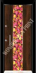 Living Room Door Skin Paper