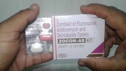 Combikit Of Fluconazole Azithromycin And Secnidazole Tablets
