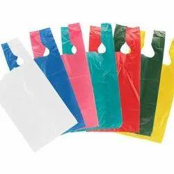 W Cut Plain Plastic Carry Bags, Capacity: 2 - 5 kg