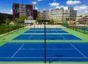 Tennis Court Flooring Tennis Court Development Service, Thickness: 12-25 Mm