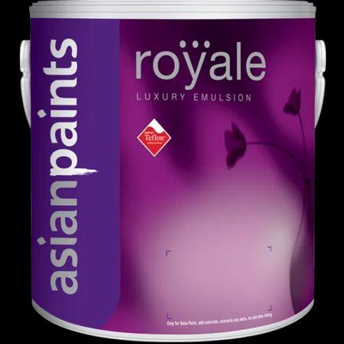 Asian Paints Soft Sheen Royal Luxury Emulsion Paint 20 Ltr For Interior Walls 30 Kg Rs 7350 20 Litre Id 15997038373