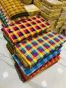 Check Cotton Handloom  Fabric