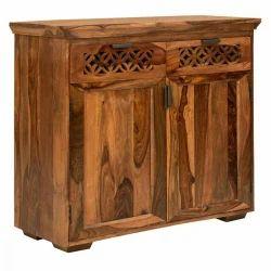 Brown Sheesham Wood Sideboard