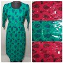 Cotton Long Designer Kurti