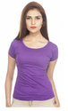 Women Round Neck T Shirt