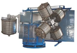 Three Arm Bi Axial Rotational Moulding Machines