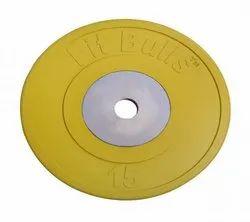 FitBulls Bumper Plate