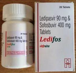 90 mg Ledipasvir And 400 mg Sofosbuvir Tablet