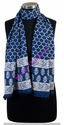 Hand Block Printed Cotton Stoles 22x72 Inches