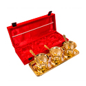 Gold Plated Handi Set