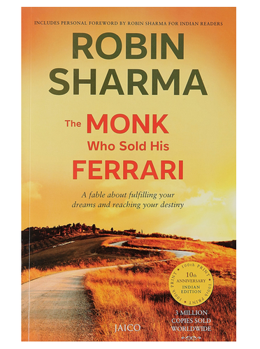 The Monk Who Sold His Ferrari Book At Rs 199 Piece Betul Id 16581853630