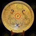 White Marble Handicraft Plate