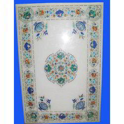 Marble Inlay Table Top and Jewel Carpets Manufacturer | Trade Link, Agra