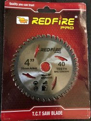 Redfire TCT Circular Saw Blade Premium Quality(Make In India)