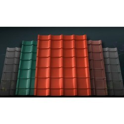0.50mm Oralium Grantile Roofing Sheets