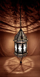 Moroccan Lamp Oriental Pendant Arabian Metal Ceiling Light Hanging Lantern Lamp